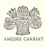 Ex-libris Amédée Carriat