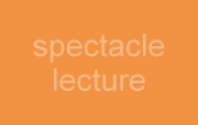 visuel spectacle/lecture
